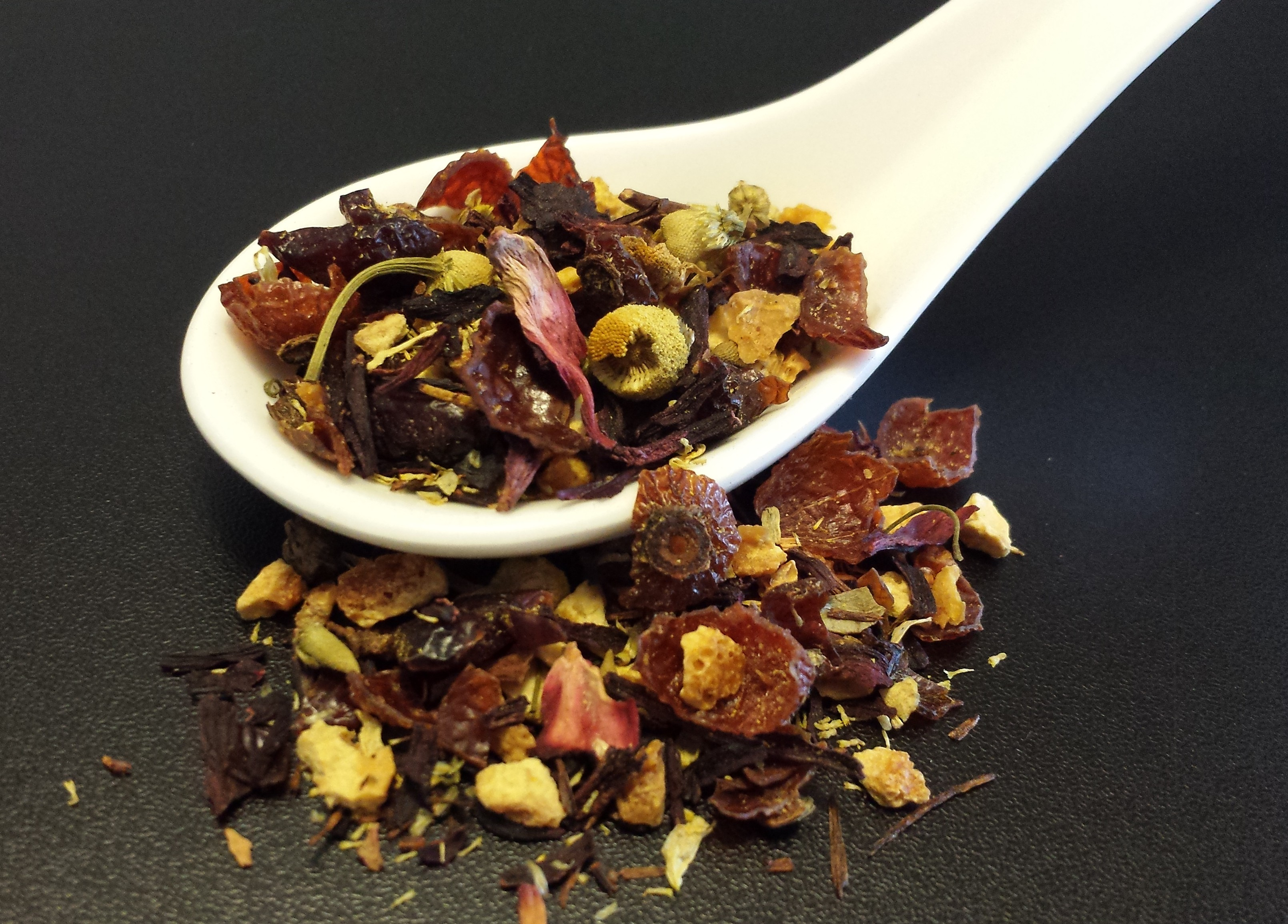 Cranberry Orange, tisane, caffeine free, cranberry, orange, chamomile