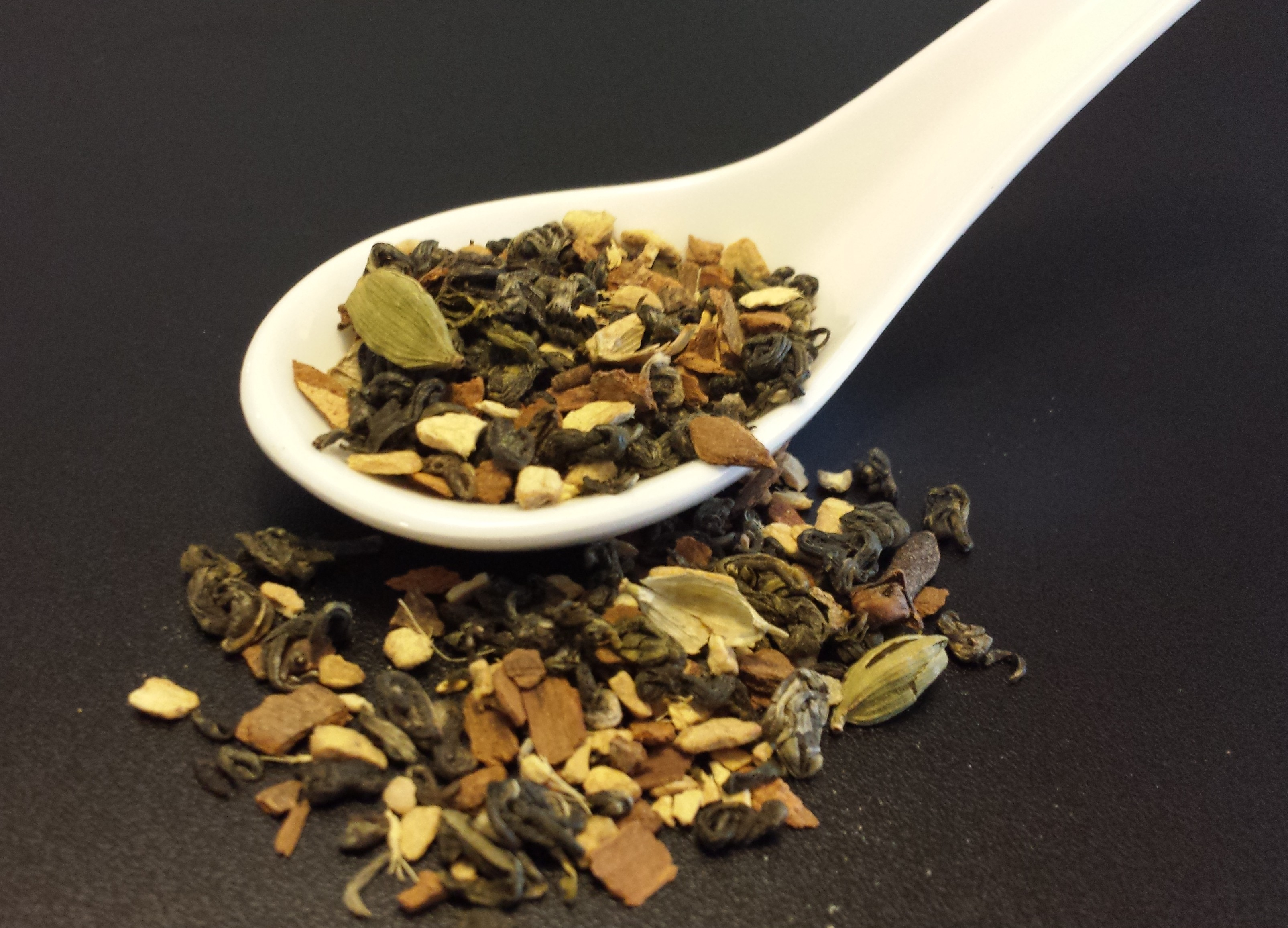Green tea chai, chai, green tea, Chinese tea, Attic blend tea