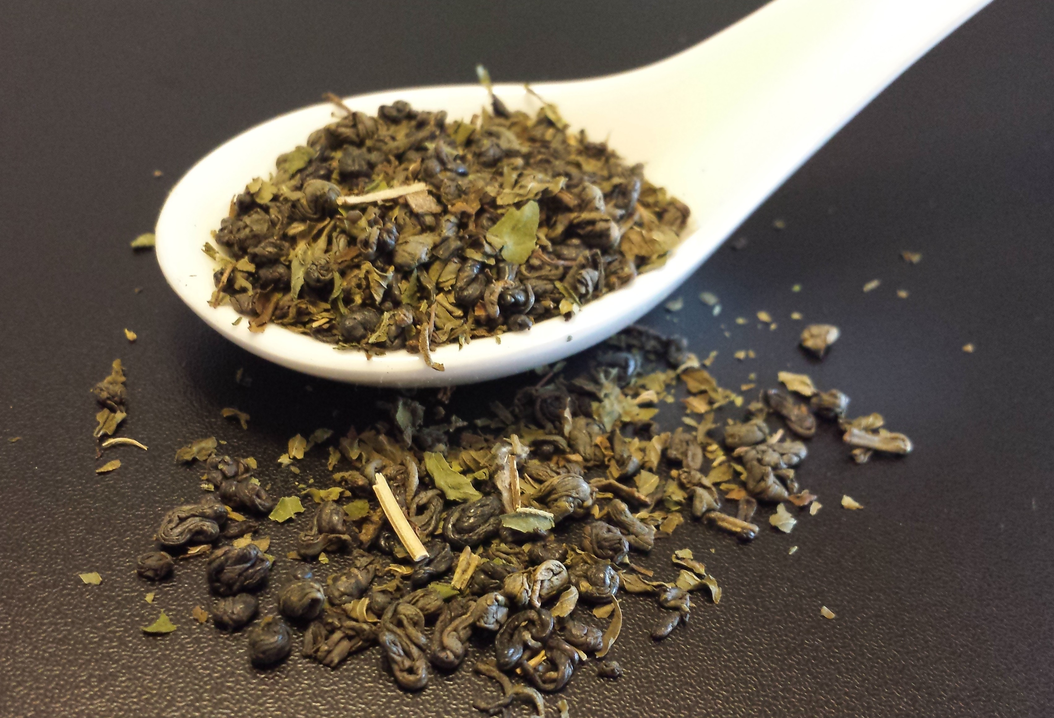 Moroccan Mint, green tea, peppermint, Attic blend tea, Gunpowder tea, Chinese tea