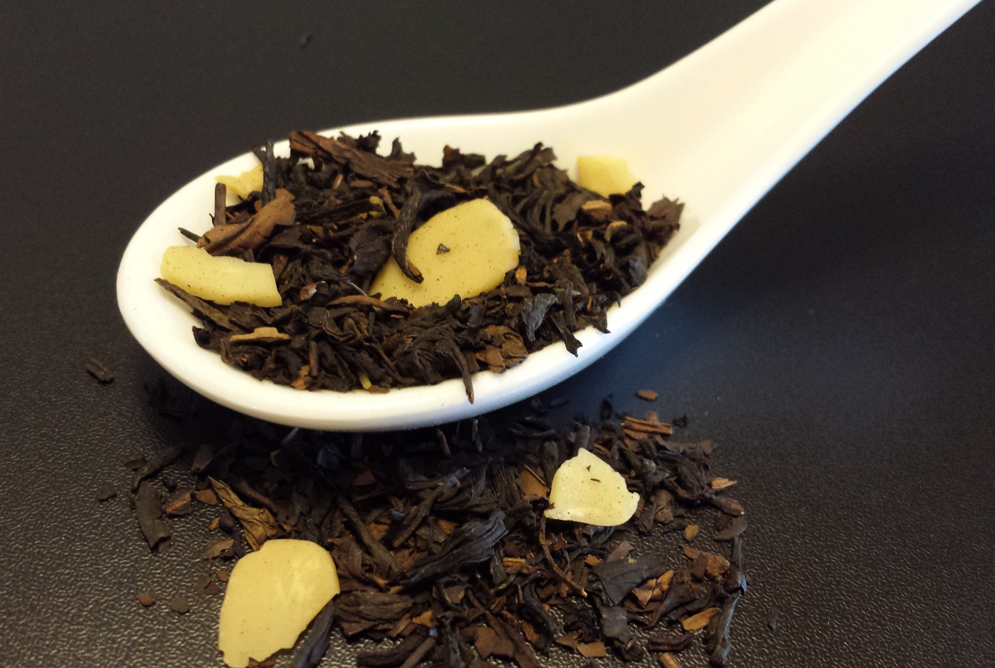 Roasted chestnut, black tea, Chinese tea, Yerba Mate, Oolong, almonds