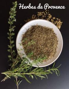 herbes de provence, thyme, basil, rosemary, marjoram, oregano, fennel